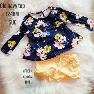 Old Navy Baby Girl Spring Outfit